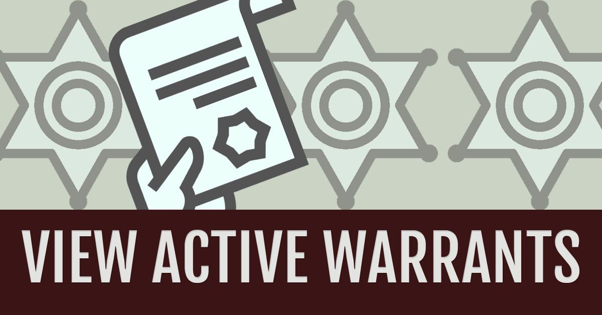 View Active Warrants
